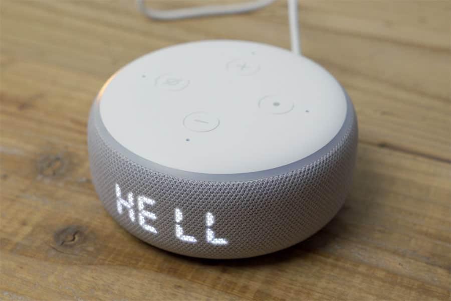Echo Dotのセットアップ