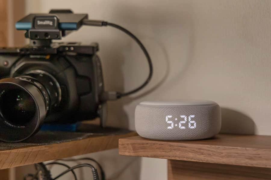 Amazon Echoも10インチのShowも使ったけど「Dot with Clock」がベストだった