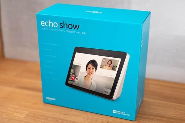 echo showの青い外箱