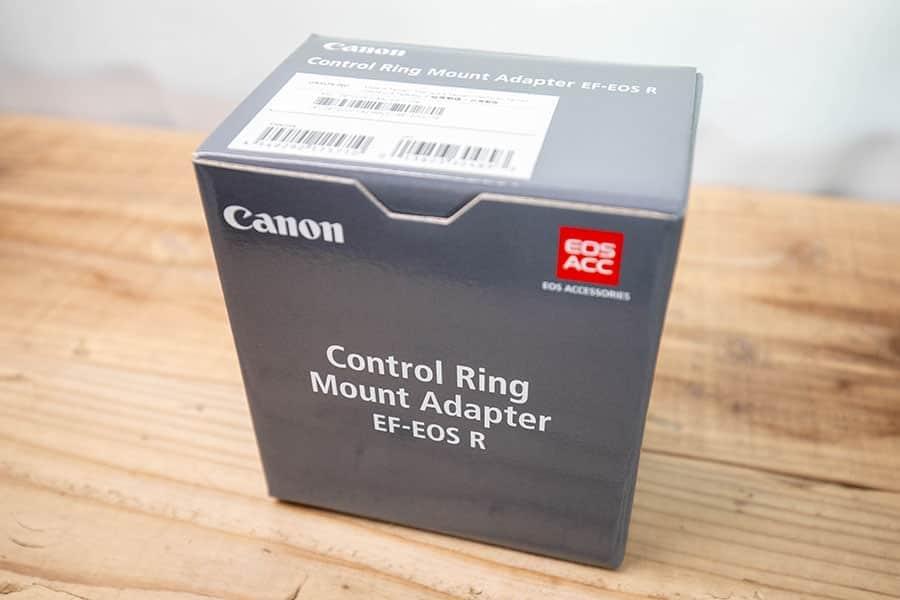 EF-EOS R コントロールリング マウントアダプター