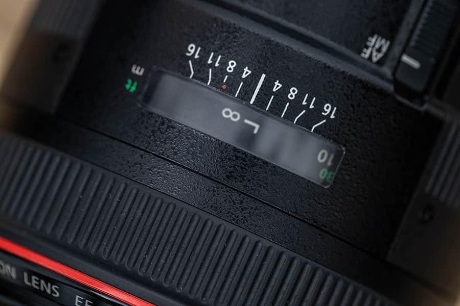 撮影距離指標