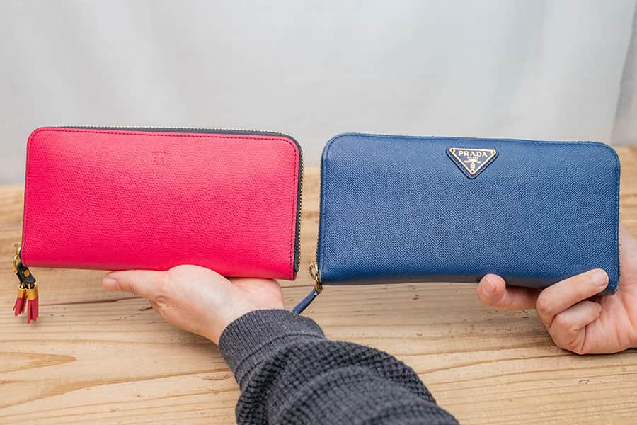 EPOIの財布とプラダの財布