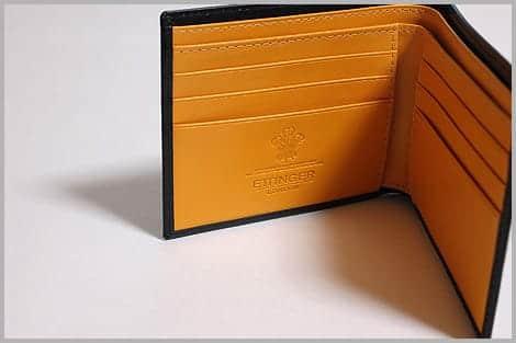 ETTINGERの折り財布