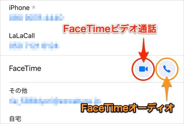 iPhoneでFaceTimeを使う方法