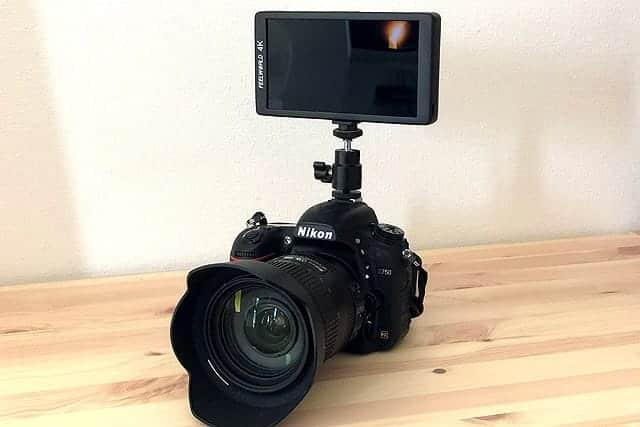 デジタル一眼レフに最適な外部モニター『FEELWORLD F570』レビュー D750でも自撮り動画!