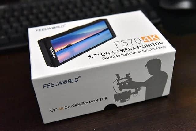 デジタル一眼レフに最適な外部モニター F570