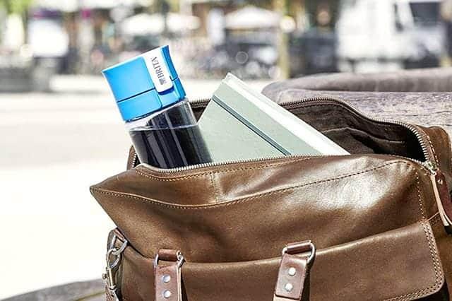 もうミネラルウォーターを買う必要なし!いつでもろ過したての水が飲める携帯形浄水器『BRITA fill&go』