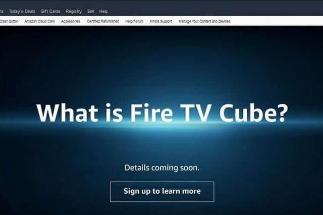 アマゾン、Fire TV Cubeを予告
