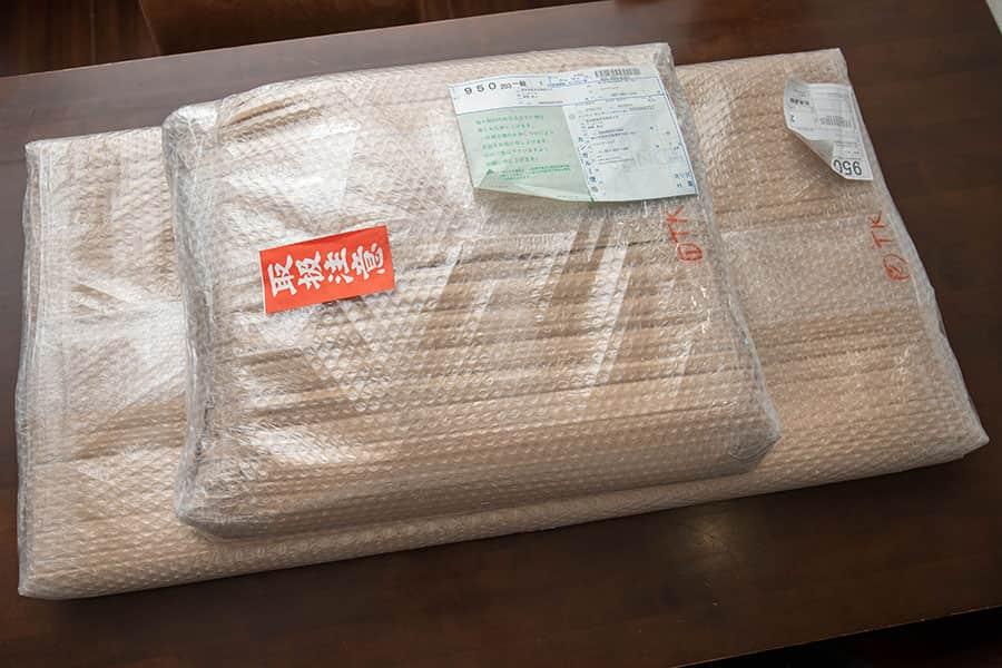 マルトクショップで注文した木材