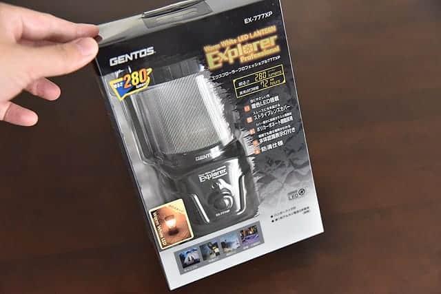 レビュー1,500以上のバカ売れLEDランタン『ジェントス EX-777XP』長寿命でコンパクト!購入レビュー
