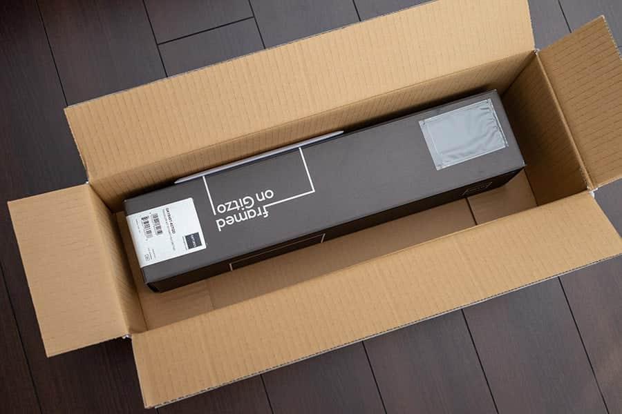 三脚GT1545T+雲台GH1382TQDキットの外箱