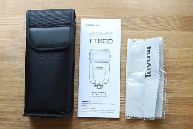 Godox TT600 パッケージ一覧