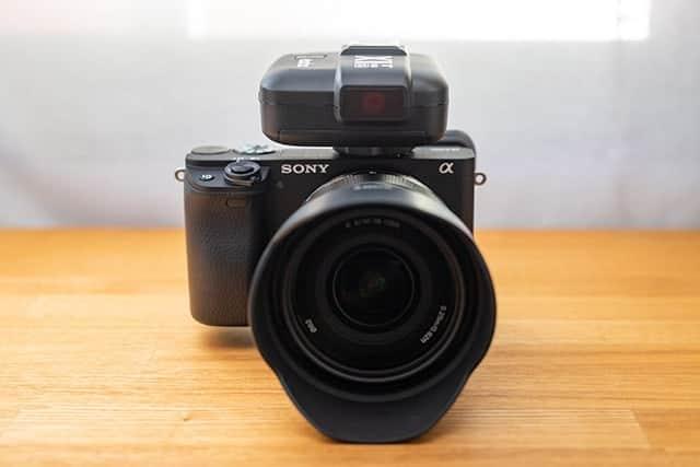 α6400で外部フラッシュ(オフカメラ)を使うためのトリガー『Godox X1T-S』