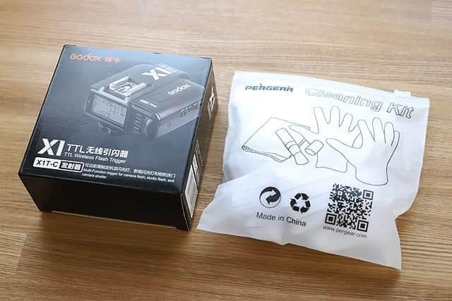 Godox ワイヤレスフラッシュトリガー『X1T』購入レビュー