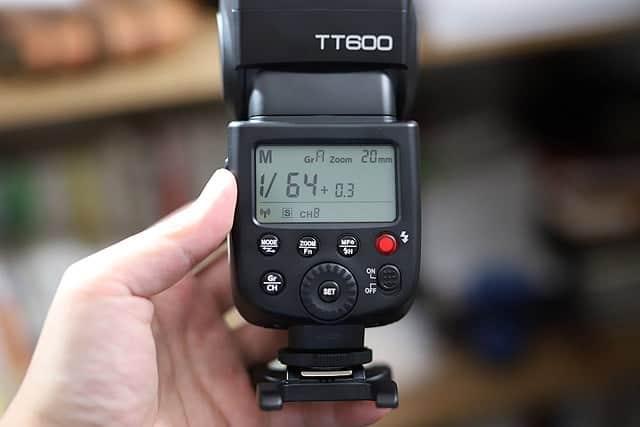TT600をスレーブモードにする
