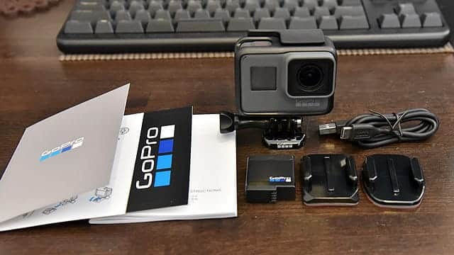 GoPro Hero5 内包物一覧