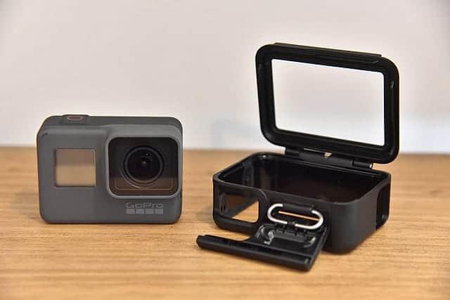 GoPro Hero5とThe Frame