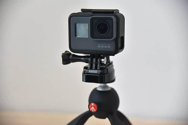 GoProを普通の三脚にマウントするためトライポッドマウント購入レビュー