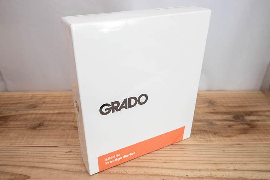 GRADO SR325e パッケージ