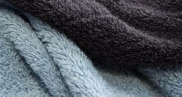 毛羽落ちが少なく肌にも優しいタオル