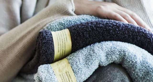 育てるタオルはすごく軽い
