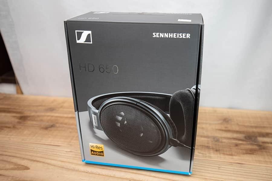 新しいパッケージデザインのHD650