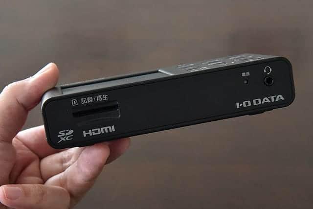 HDMIゲームキャプチャの前面