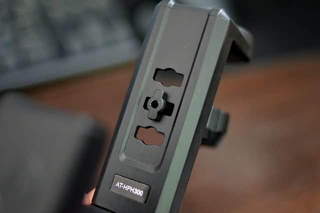 可動ストッパーは大きく3段階で調整可能
