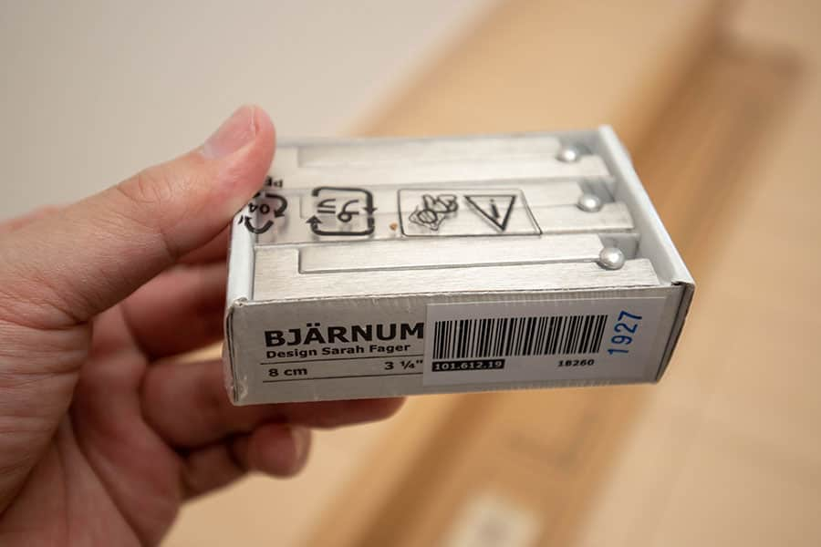 IKEA 折りたたみ式フック BJARNUM ビャーヌム