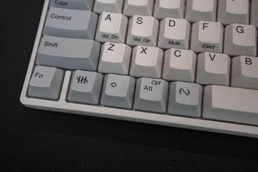 HHKB HYBRID Type-S オプションとコマンドキーが逆