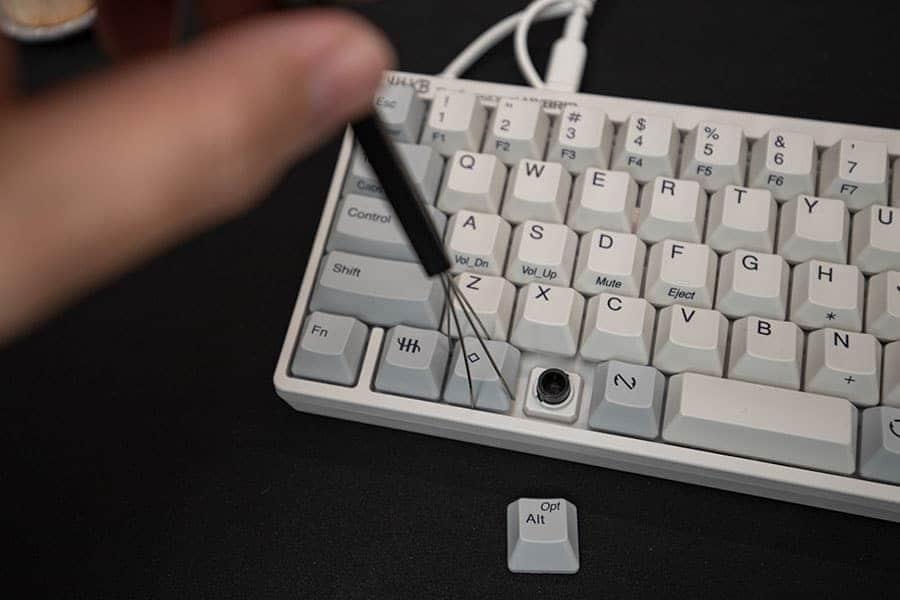 HHKB HYBRID Type-Sのキートップを入れ替える