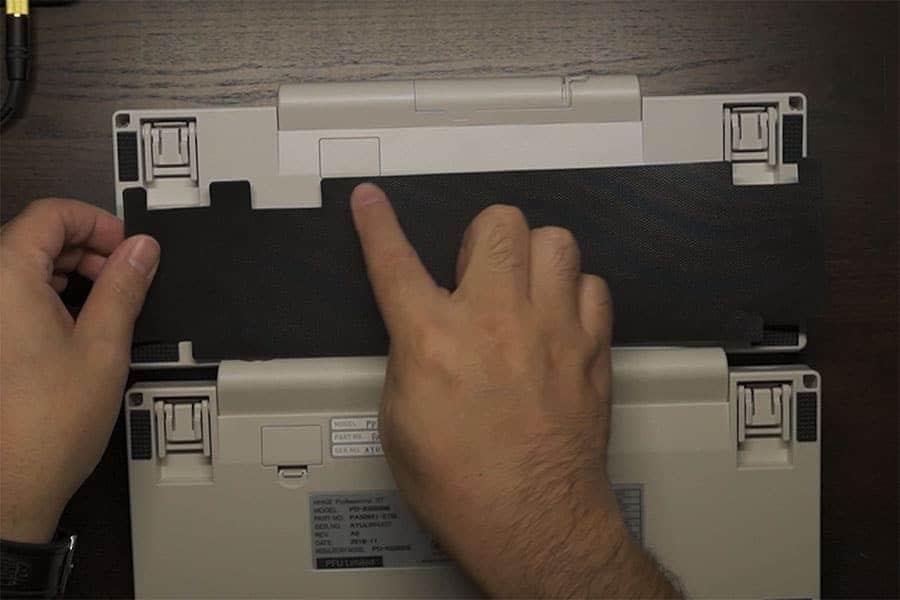 HYBRIDにBT用の吸振マットをあててみた