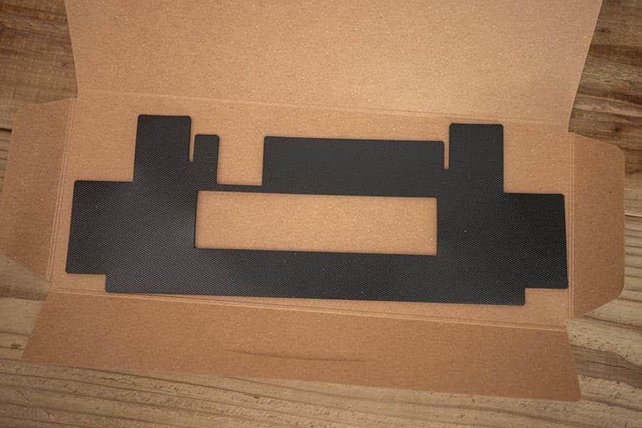 HYBRID Type-S/HYBRID/Classic用の吸振マットのデザイン