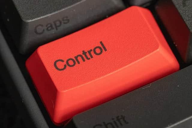 Controlキーを取り付けてみた