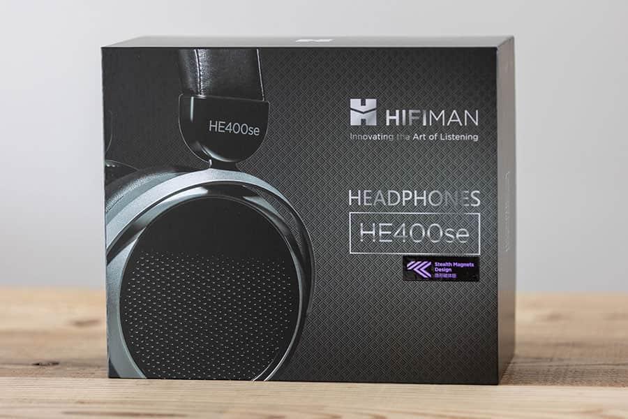 HIFIMAN HE400SEのパッケージ