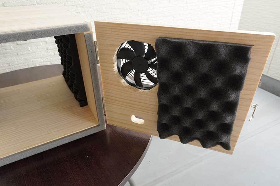 自作の静音ボックス