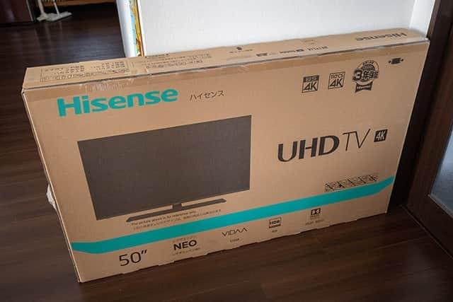 Amazonで初めてテレビを購入