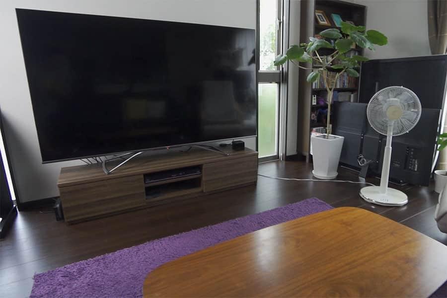 75インチの液晶テレビの視聴距離