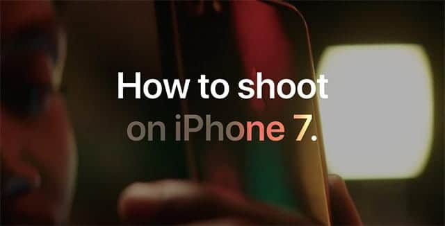 How to shoot on iPhone 7 公開
