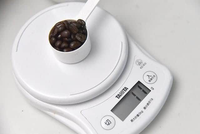 11gのコーヒー豆