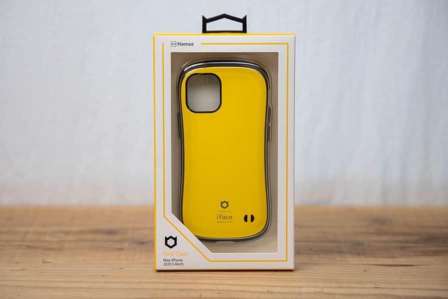 iFace First Class Standard iPhone 12 mini ケース iPhone2020 5.4インチ [イエロー]