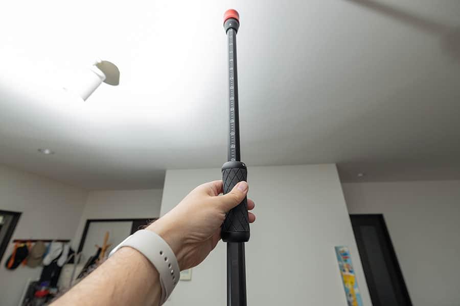 最大伸長は150cm