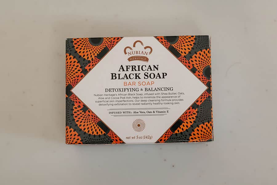 アフリカンブラックソープのパッケージ