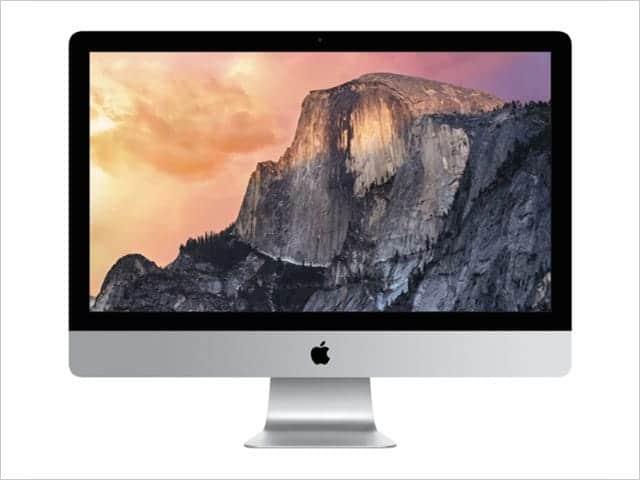 27インチiMac Retina 5K ディスプレイモデル