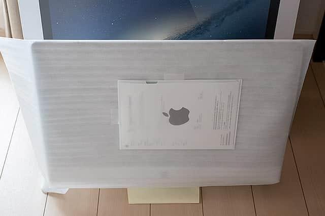 神対応!iMacのヒンジが割れた件をAppleに連絡したら無料で修理してくれた件