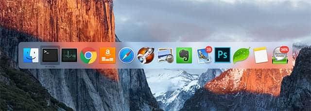 Macで14個のアプリを起動している状態