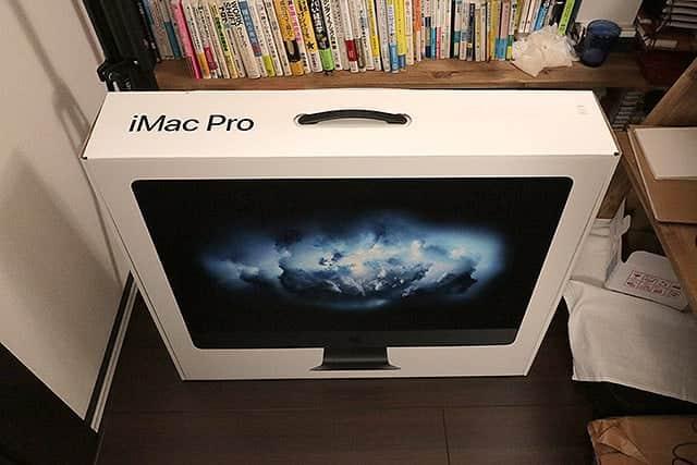 72万円越えのiMacProが到着!15分の動画書き出しわずか8分!何をするにも速くて美しい、ファーストインプレッション