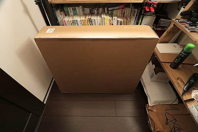 上海から送られてきた箱
