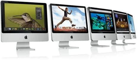 iMacをマイナーアップデート