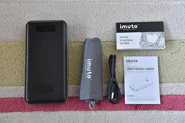 iMuto X6 Pro 内包物一覧